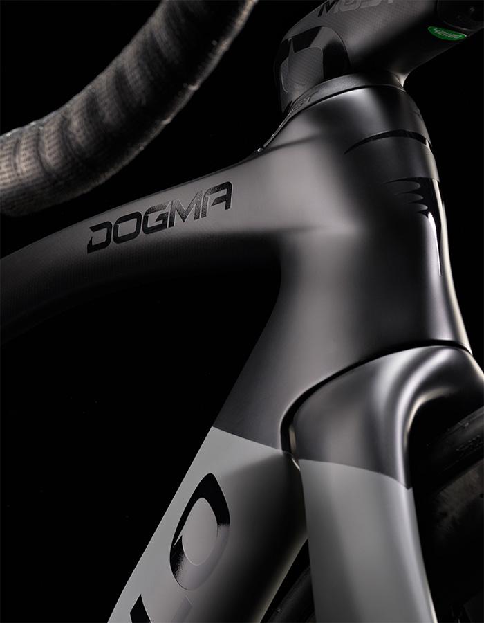 Pinarello dogma f12 headtube closeup - best bikes of 2021