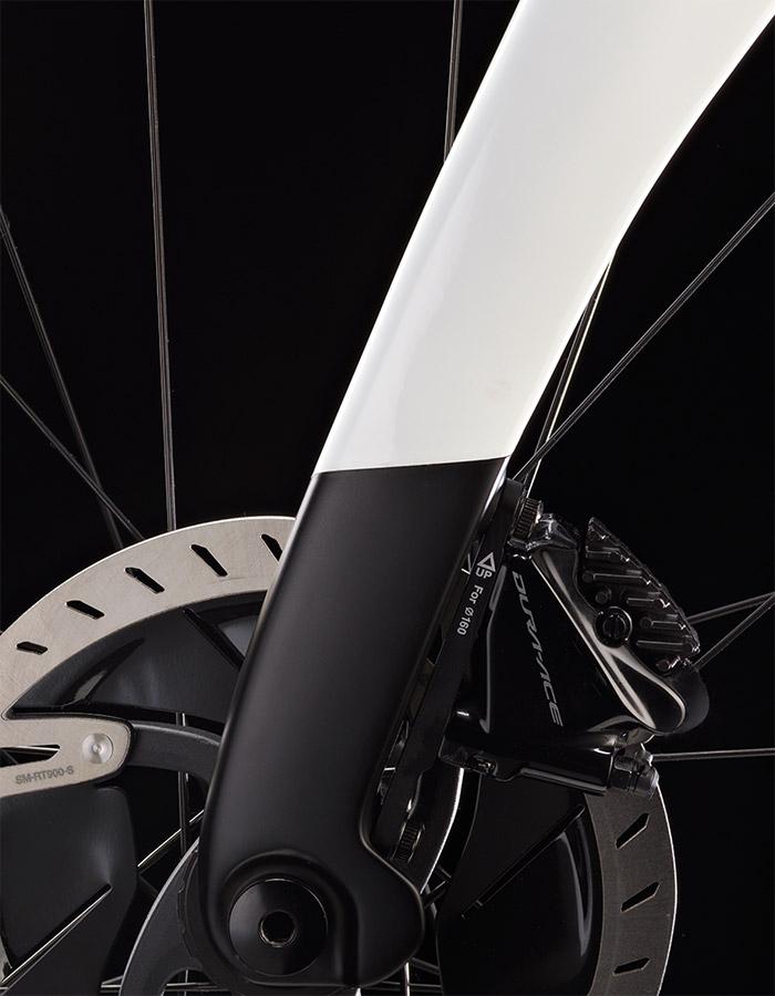 Pinarello fork detail - best bikes of 2021