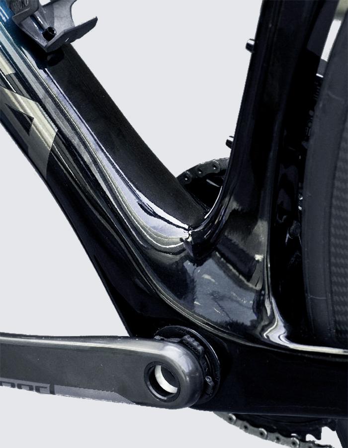 Orbea Orca crank box detail - Racing bikes of 2021