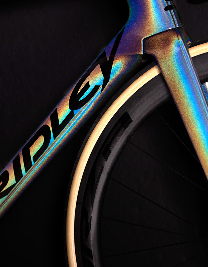Ridley logo and paint scheme - Racing bikes of 2021